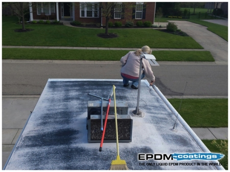 Rv Rubber Roof Coating Rv Roof Maintainance